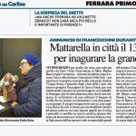Mattarella in città il 13 dicembre per inaugurare la grande mostra