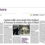 I primi mille anni degli ebrei italiani. A Ferrara la mostra che apre il Meis