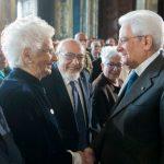 In occasione del Giorno della Memoria 2018, il Presidente Sergio Mattarella ha accolto stamani al Quirinale le forze politiche e sociali, i ragazzi delle scuole, gli esponenti del mondo ebraico italiano, i sopravvissuti e i testimoni.