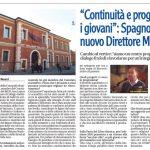 """""""Continuità e progetti per i giovani"""": Spagnoletto nuovo Direttore MEIS"""