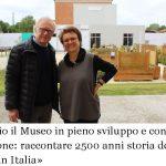 «Lascio il Museo in pieno sviluppo e con una missione: raccontare 2500 anni storia degli ebrei in Italia»
