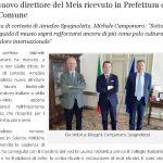 Il nuovo direttore del Meis ricevuto in Prefettura e in Comune
