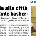 «Legare il Meis alla città Serve un ristorante kasher»
