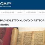 RAV AMEDEO SPAGNOLETTO NUOVO DIRETTORE MUSEO EBRAICO DI FERRARA