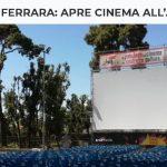 MUSEO EBRAICO FERRARA: APRE CINEMA ALL'APERTO