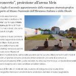 """""""Il concerto"""", proiezione all'arena Meis"""