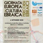 Giornata Europea della Cultura Ebraica a Ferrara