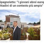 """Amedeo Spagnoletto: """"I giovani ebrei europei devono sentirsi cittadini di un contesto più ampio"""""""