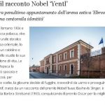 Al Meis il racconto Nobel 'Yentl'