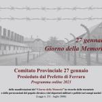 Programma Giorno della Memoria 2021