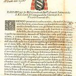 Edict of the Cardinal Vicar of Rome