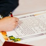 1. La Ketubbah, il contratto di matrimonio